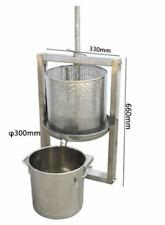 Hollow Barrel + Wine Barrel Separation Grape Press Machine Winepress L size  ss
