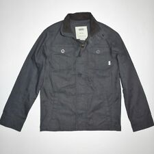 New Vans Boys Hawser Lightweight Button Up Street Casual Jacket Medium