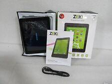 "ZEKI 8"" Android 4.3 Quad-Core Tablet (TBQG884B) 8GB *Defect (33328)"