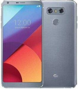 LG G6 ThinQ H872 - 32GB - Ice Platinum (GSM AT&T/T-Mobile Unlocked)