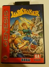 Sega Genesis Game Landstalker Complete Box Tab Manual CIB Rare RPG