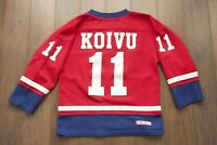 *** Saku Koivu Montreal Canadiens Jersey Shirt CCM Vintage Vtg size Youth M
