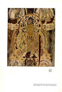 Buddha-Motiv Pagoda at the Daigoji Monastery Kyoto Japan Histor. Kunstdruck 1911