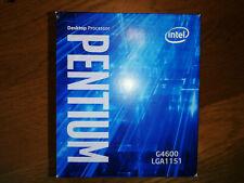 Intel® Pentium® G4600 2 x 3.6 GHz Dual Core Prozessor Sockel 1151 Boxed