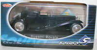 SOLIDO 1/43 - 14036 - BUGATTI ROYALE - BLACK