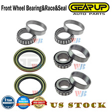 6pcs Front Wheel Bearing&Race&Seal Assembly for Ford E-100 Econoline E-150 F-150