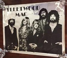 Fleetwood Mac Stevie Nicks Big Shots Foil Poster New Orleans 1970s/1980s Rare