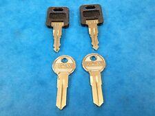 2 x AVONDALE CARAVAN WD KEYS CUT FOR DOOR LOCK GAS LOCKER