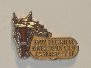 1992 - Florida Breeders Cup Committee Lapel Pin in MINT Condition