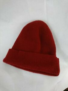 Mens H&m Winter Hat Red