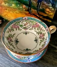 Minton Pheasant Pattern Tea Cup & Saucer Nathan DOHRMANN Co. piece 100 years old