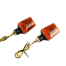 Universal Motorcycle 8mm Turn Signal Indicator Blinker Light Amber Lamp Chopper
