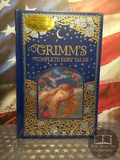 NEW SEALED Grimm's Complete Fairy Tales - Bonded Leather - Color Illustrations
