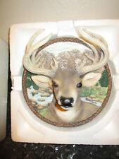 1995 The Buck - 1st in Nature's nobility Series Bradford Exchange Plate Deer