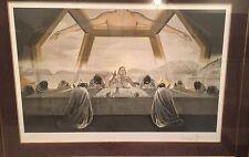 "Salvador Dali ""The Sacrament of The Last Supper"" Gold Gala Commemorative109/160"