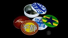 Firefly Serenity Logos Art Images Set of 4 Metal Cork Backed Coasters New Unused