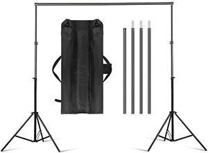 Stand Supporto Barra Per Telo Per Kit Studio Fotografico 3MT Andoer D1253