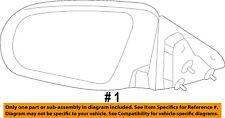 CHRYSLER OEM 2008 Sebring Door Side Rear View-Power Mirror Assy Right 1AL021XRAC