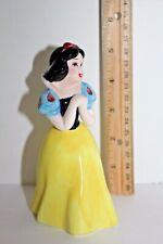 "Walt Disney Productions Japan Snow White Princess Figurine Ceramic 5 1/2"" Figure"