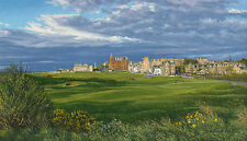 """""""The 17th Hole 2015 The Road Hole the Royal and Ancient"""" L. Hartough 60"""" Canvas"""