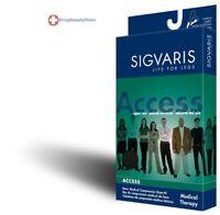 Sigvaris 970 Access Series 30-40 mmHg Womens Closed Toe Knee High 973C