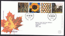 Tree and Leaf 2000 First Day Cover - SG2156 to SG2159 Edinburgh Cancel