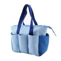 Portable Knitting Bag Storage For Wool Yarn Crochet Needles Organizer Home