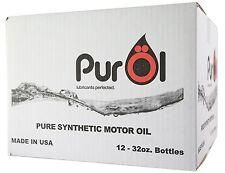 PurÖl ELITE 5w30 SYNTHETIC MOTOR OIL 12 QT. CASE