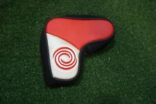 Odyssey Golf Generic Red/Black/Silver Blade Putter Headcover Head Cover Good