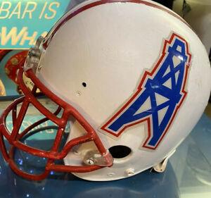 Houston Oilers 1975-80 Throwback   Riddell Full Size Replica Football Helmet Dis
