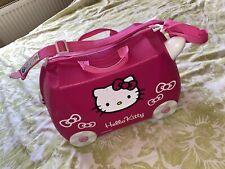 Hello Kitty Trunki Case Suit Case Hard Plastic Ride On Pink