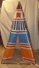 Tenda indiana TENDY Vintage - In regalo con merendine MOTTA - OTTIME condizioni