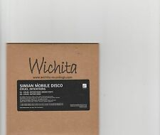 Simian Mobile Disco-Cruel Intetions UK promo cd single