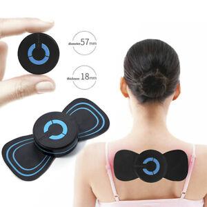 Electric Shoulder Neck Massage Pad Cervical Vertebra Waist Arm Leg Massager UK