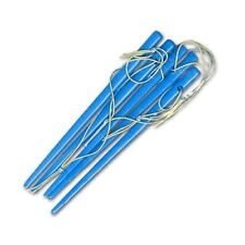 Magician's Button Hole Loop Puzzle (BLUE) Stick Real Street Close Up Magic Trick