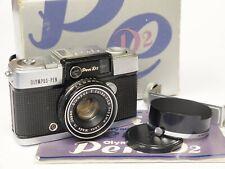 Olympus Pen D2 Half Frame 35mm Compact Camera, Boxed. Stock No u10701