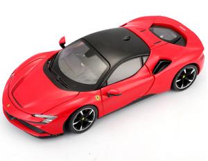 1:24 Bburago Ferrari SF90 Stradale Diecast Model Sports Racing Car NEW IN BOX