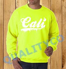 Unisex Melting Cali Neon Sweatshirt Sweater dope rave California republic weed