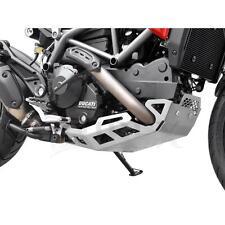 Ducati Hyperstrada Hypermotard 821 BJ 13-15 Unterfahrschutz Motorschutz silber