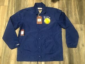 Nwt's Golden State Warriors Satin Mitchell & Ness Coaches Jacket Men's L