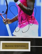 Sloane Stephens Autographed Framed 8X10 Photo! Original Signed Picture! MeiGray