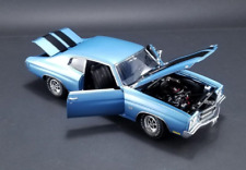 1970 CHEVROLET CHEVELLE SS 396 ASTRO BLUE 1:18 GUYCAST ACME DIECAST CAR VINTAGE