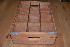 Vintage Piggly Wiggly King Kooler Drinks Wooden Crate 12-1 Liter Bottle Holder