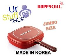 Happycall Happy call Double Sided Jumbo Pan Pressure  Big Size Red Frying Pan