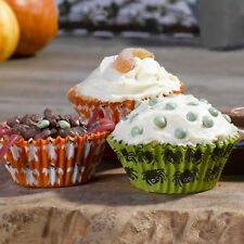 Happy Halloween 100 Tricky Cupcake Cases & 10 Picks by Neviti
