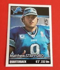 2012 Panini Football Matthew Stafford Sticker #300***Detroit Lions***