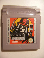 Retrogaming jeu GBA NINTENDO Game Boy Color Advance MERCENARY FORCE