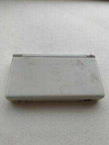 Nintendo DS Lite Polar White - Tested - FAIR Condition