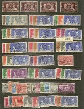 (L) Br Empire 1937 GVI Coronation Collection Fine Used