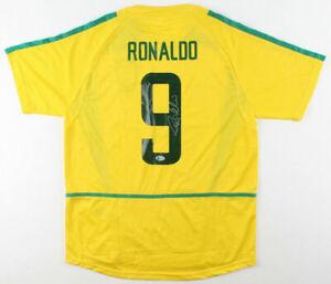 Ronaldo Luís Nazário de Lima Signed Shirt Jersey Brazil Brasil Beckett COA